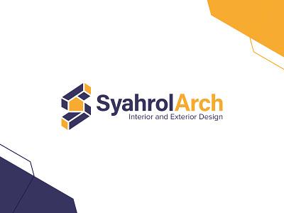 Syahrol Arch   Logo Design architecture logofield icon brand agency lettermark geometic symbol logo design branding logo designer logo