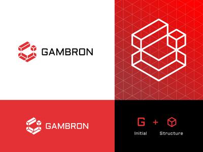 GAMBRON™ Logo Design