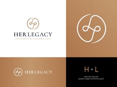 Her Legacy Logo Design