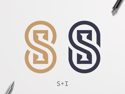 S + I Monogram