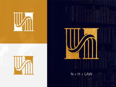 N+H Monogram Logo