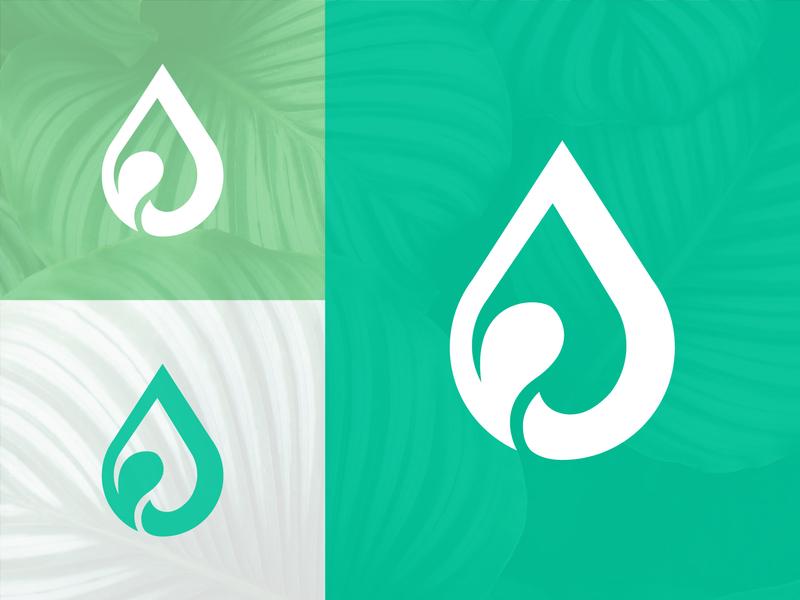 CBD Oil Logo Design logotype logomarks logodesigner graphicdesign logomark branding icon lettermark brand agency abstract symbol logo designer logo design geometic creative hemp oil clean cbd-logo cbd oil logo