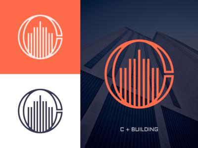 C + Building Logo