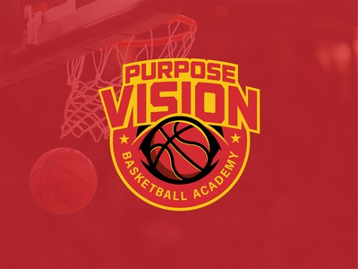 Purpose Vision Basketball Academy - Logo Badge