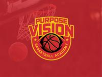 Purpose Vision Basketball Academy - Logo Badge