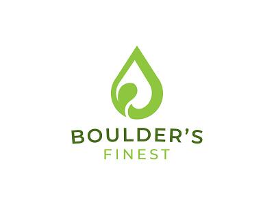 Boulder's Finest logodesign brand marijuana oil hemp healthy fresh logofield design logomark brand agency lettermark branding geometic logo design symbol logo designer logo