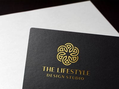 The Lifestyle Design Studio graphic design health care yoga brand branding geometic logo design symbol logo designer high end luxury elegant logofield lifestyle logo abstract flower feminine healthy