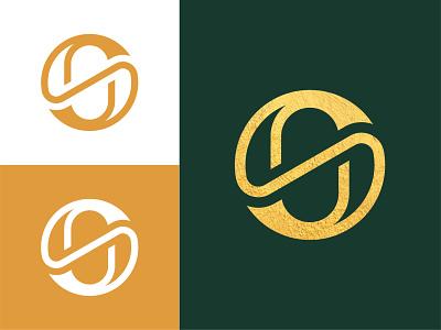 S+O Monogram Logo brand design logofield gold luxury elegant circle monogram brand agency icon lettermark brand identity brand branding geometic symbol logo design logo designer logo