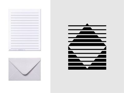 Abstract Leter Logo mailing lines trademark logofield unique creative mail icon logo designer logo lettermark branding geometic symbol logo design letters paper envelope letter