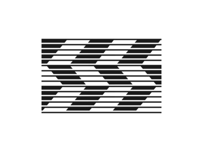 Abstract SS Lettermark zigzag brand agency graphicdesign branding geometic symbol logo design geometric brand logofield letter monogram logo negative space arrow line