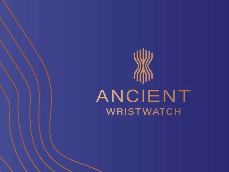 Ancient Wristwatch logotype logomark logo design design brand agency wristwatch stylish logo high-end luxury elegant logofield branding logos watchlogo logodesigner brand logo