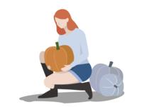 Pumpkin pickin'
