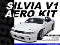TRA-KYOTO Silvia V1 Aero Kit