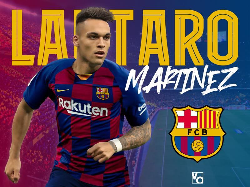 Lautaro Martinez to Barca
