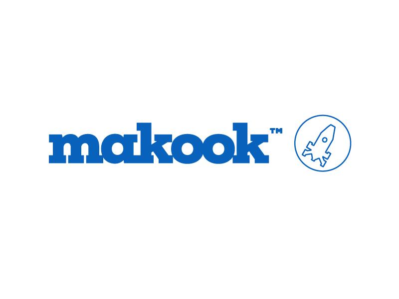 makook growth hacking 2d growth behance big data startup rocket iconic icon symbol logo makook