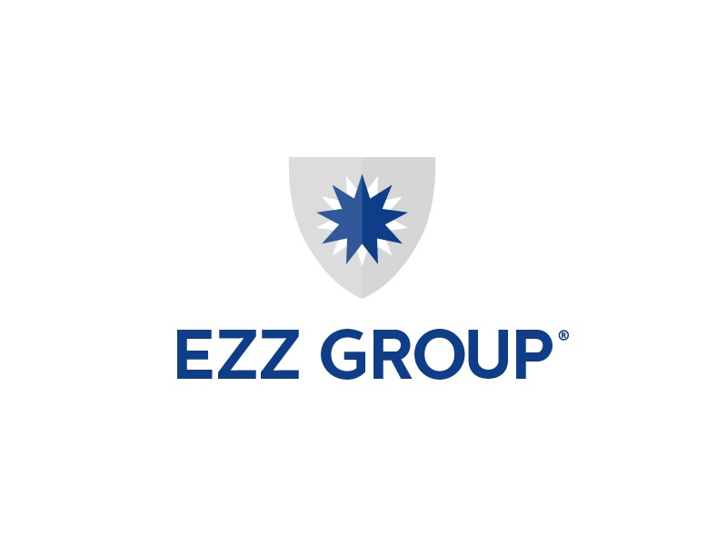 Ezz Group  layout webdesign identity branding blue business exporter startup ontario canada