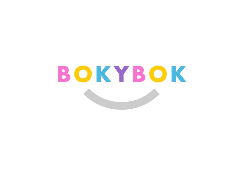 BOKYBOK  party celebration naming logo identity photobooks branding app photos photography photo photobook