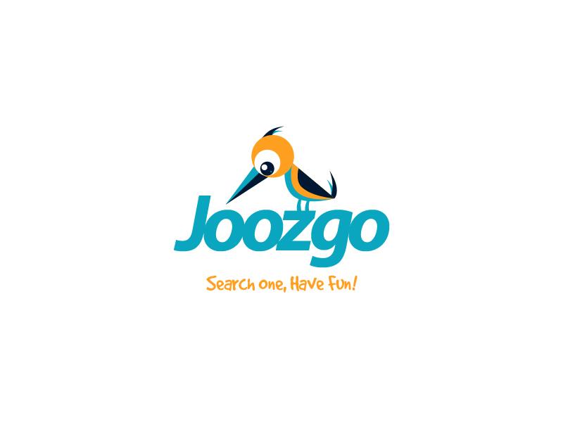 Joozgo parrot animal go startup fun search website logo symbol bird travel portal