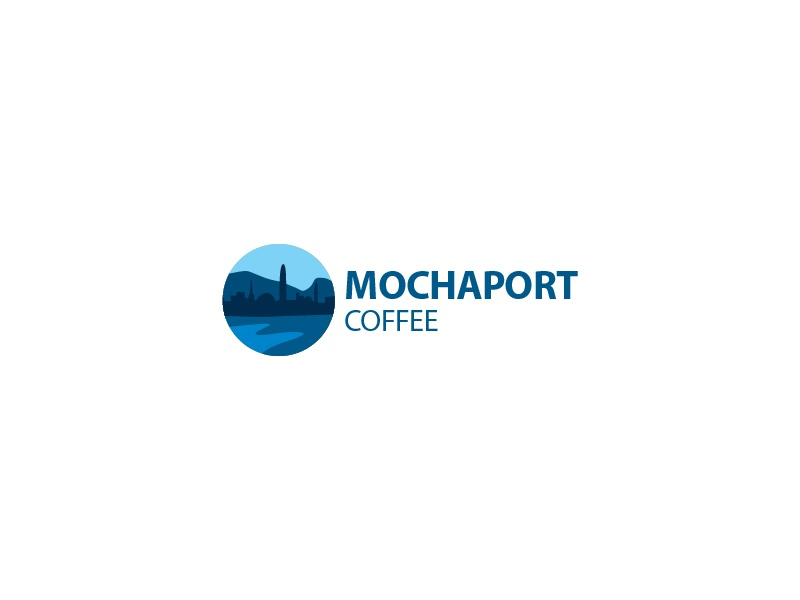 Mochaport Coffee imagery startup australia yemen port mocha coffee city illustration illustrative