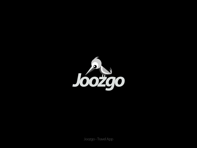 Joozgo portal travel parrot bird symbol logo website deals search fun just go animal