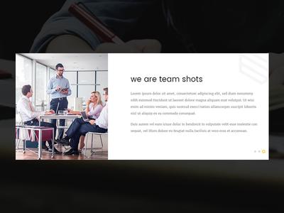 Shots – Multipurpose PSD & HTML Template