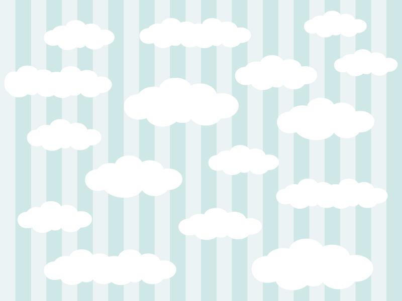 The Clouds In The Background Vector Illustration небо дизайн иконки иллюстрация фон облоко