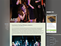 A Cappella Blog