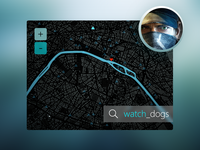Watch_Dogs Map UI Concept