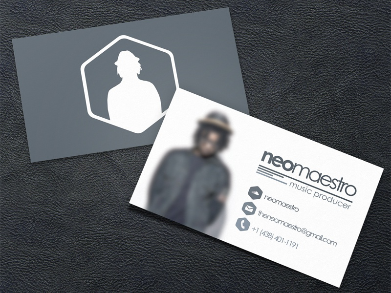 NeoMaestro Business Card by Manuel SAINSILY - Dribbble