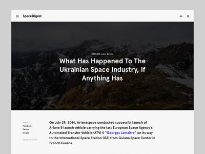 SpaceDigest minimal space spacedigest nich universe ukraine longread article