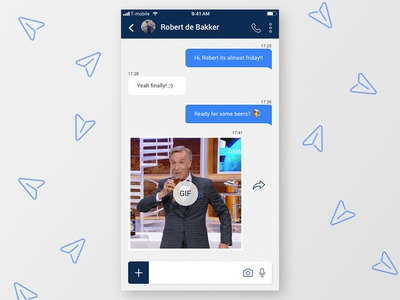 Daily UI #013 / Direct Messaging