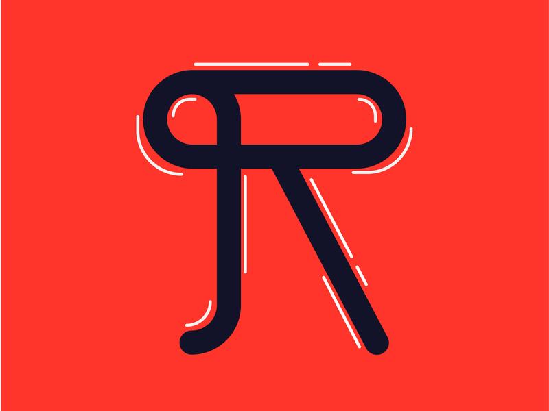36 days of type R illustration type 36daysoftype challenge 36days