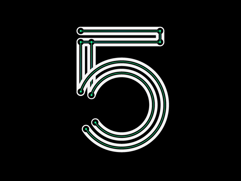36 days of type 5 number type letter challenge 36daysoftype 36days