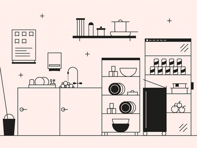 Kitchen Illustration
