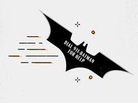 Batman Business Card