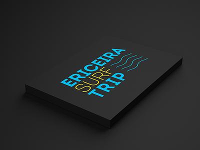 Ericeira Surf Trip mark lines ericeira logo waves trip surf design branding