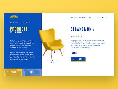 House Furniture Ecommerce webdesign ux ui landing home furniture ikea website design shop e-commerce ecommerce