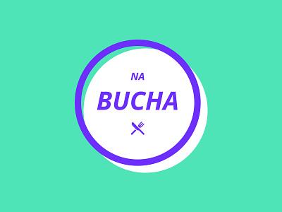 Na Bucha - Branding color colour food brand typography icon vector branding illustration logo design