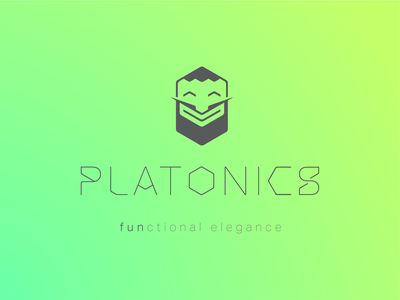 Platonics Logo custom fonts custom font elegance brand and identity furniture brand vector branding logo