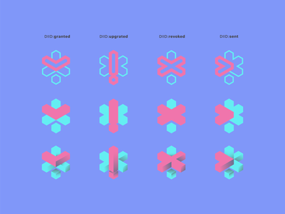 DIID icon states icon vector branding logo illustration brand identity iconset icons app ui ux