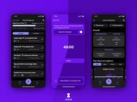 Seque Dark Mode coming soon goals improvement focus productivity ios product design design app ui ux