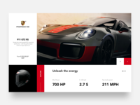 Porsche UI Design