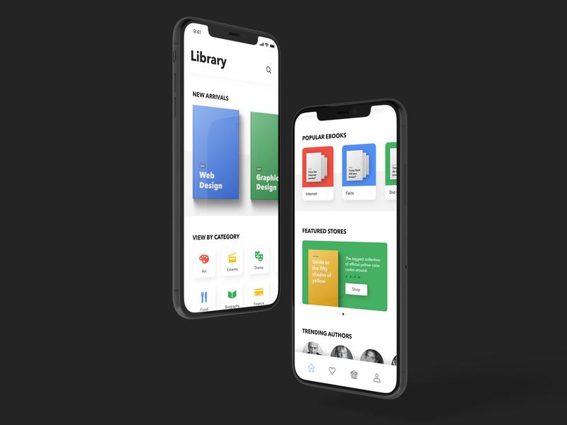 Ebooks Concept App