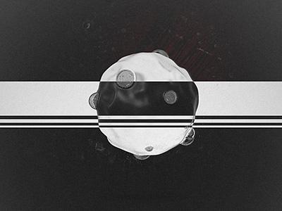 dailies.20042016.boil splash stab bw man kneel abstract houdini 3d visuals melt vfx effect