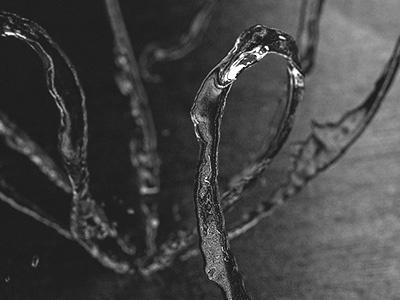 dailies.25042016.drop splash stab bw man kneel abstract houdini 3d visuals melt vfx effect