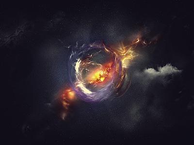 Nova wallpaper stars space universe supernova explosion grunge clouds nebula