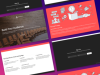 Landing Page Mockup - Avant
