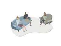 Illustrations For GivePulse - Communication