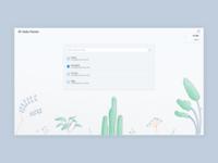 Gardening App UI Design - Work In Progress