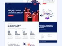 Landing Page Digital Marketing Agency